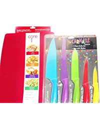 Take 5 PIECE KNIFE SET AND 4 PIECE CUTTING SHEETS save