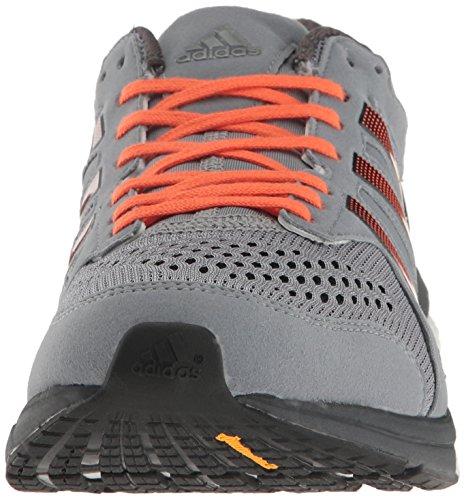Adidas Performance Mens Adizero Tempo M Scarpa Da Corsa Grigio / Nero / Arancione