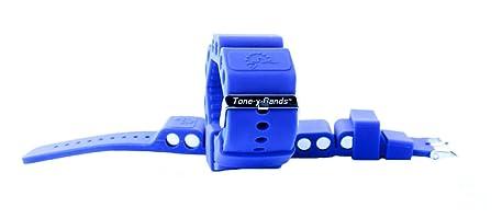 amazon 0 7kg set deep blue tone y bands cardio toning