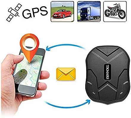 Gps tracker, Coche Carro Vehiculo GPS Localizador de Seguimiento en Tiempo Real de 150 dias de Tiempo en Espera con Iman Fuerte Diebstahlschutzl en un ...