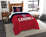 The Northwest Co mpany MLB St. Louis Cardinals Grandslam Twin 2-piece Comforter Set