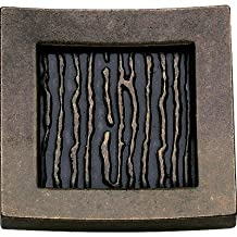 Primitive Square Knob Finish: Burnished Bronze