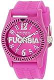 Haurex Italy Kids' PP331DP1 Promise G P Fuchsia Crystal Watch