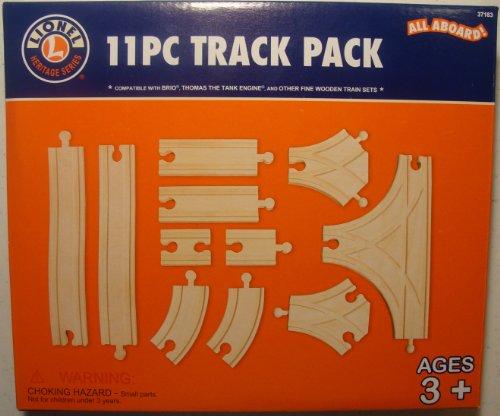Lionel Wooden 11 Pc Track Pack Lionel Wooden Trains