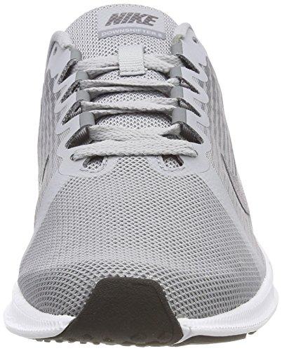 Nike Mens Downshifter 8 Scarpe Da Corsa Grigio Lupo / Grigio Scuro Metallizzato / Grigio Freddo / Nero