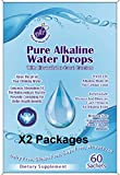2 Packages - Pure Alkaline Water Drops Contains Bioavailable Australian Great Barrier Reef Coral Calcium Makes Pure, Fresh, Ionic Mineral pH Alkaline Water (1 Package is Good for 30 Gallons of Water)