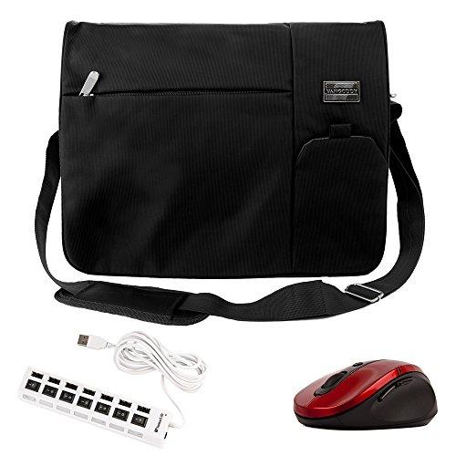 Italey HandBag / Shoulder / Sling Bag Black for Microsoft Laptop 13.5