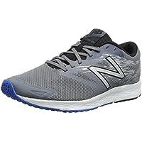 New Balance Men's Flash-M Running Shoes (Gunmetal/Black/Electric Blue)