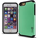 iPhone 6s Case, CoverON® [Slim Guard Series] Slim Dual Layer Armor Hard Cover Thin TPU Phone Case for Apple iPhone 6s (2015) / iPhone 6 (4.7) - Teal & Black