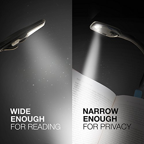 Energizer Clip on Book Light for Reading in Bed, LED Reading Light for Books and Kindles, 25 Hour Run Time, Kindle & Book Reading Lamp (Batteries Included)