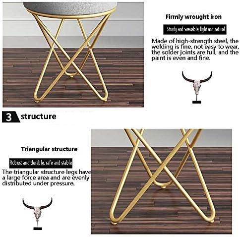 Tabouret Tabouret de pansement retro ligne design tabouret de maquillage tabouret de vêtement pad coussin chaise siège de piano