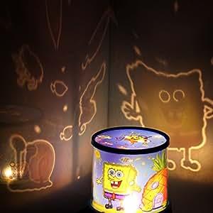 Amazon Com Romantic Led Spongebob Sky Star Master Night