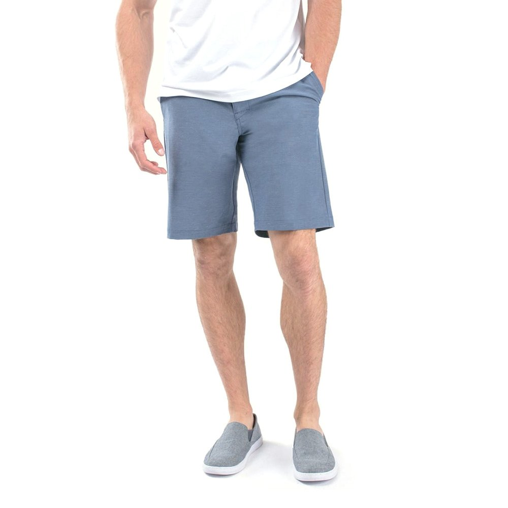 Travis Mathew TravismathewメンズBeck Shorts B07442NSY8 32 10|ヴィンテージインディゴ ヴィンテージインディゴ 32 10