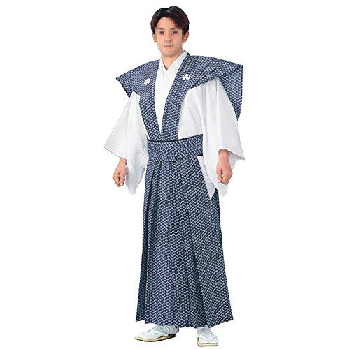 裃 神官衣装(ak52341) 節分の衣装に! かみしも 着物 袴 寺 神社 衣裳 B0142GP3KY M