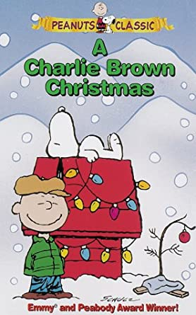 A Charlie Brown Christmas Vhs.Amazon Com A Charlie Brown Christmas Vhs Ann Altieri