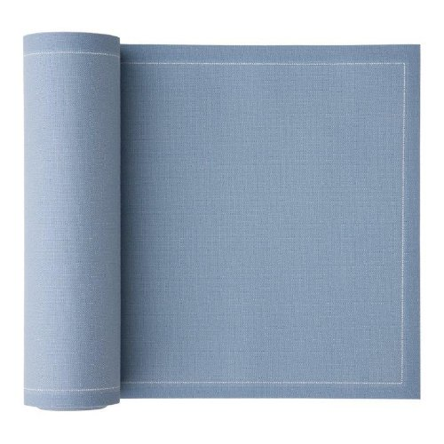 Cotton Luncheon Napkin - 7.9 x 7.9 in - 25 units per roll - Sky Blue