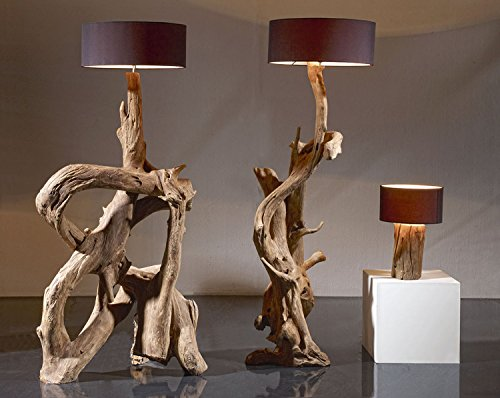 Standlampe Teak Wurzelholz Riaz Xl 200cm Stehlampe Holz Treibholz