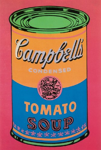 1993 Andy Warhol Soup Can Tomato Colored-Large Poster