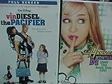 The Pacifier, Hanna Montana Livin the Rock Star Life : Walt Disney 2 Pack Collection