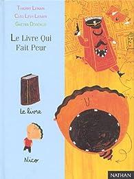 Le livre qui fait peur par Cléo Lévy-Lenain