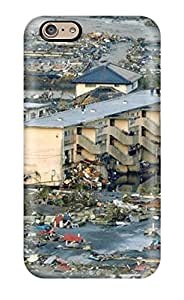 Snap-on Case Designed For Iphone 6- Japan Tsunami Earthquake March 2011