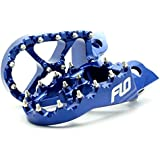 Flo Motorsports Blue Kawasaki Kx65/80/85/100 Foot Pegs Fpeg-797blu