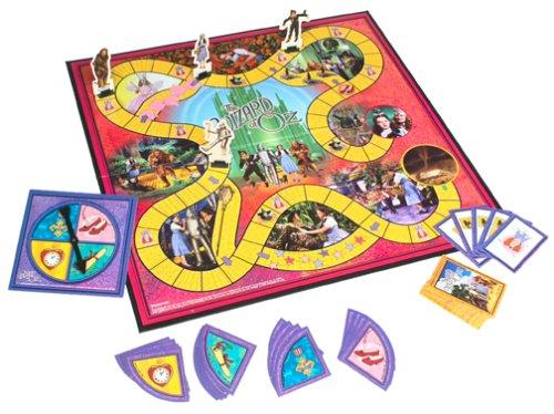 Pressman Wizard of Oz Game Yellow Brick Road