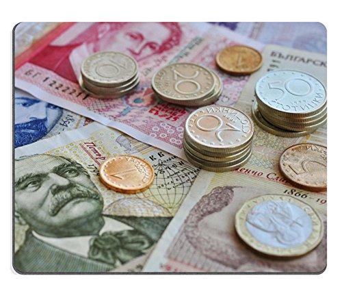 Shallow Bank (Luxlady Mousepad Bulgarian money close up Shallow dof Focus on coins IMAGE 21593889)