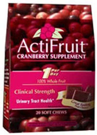 Enzymatic Therapy ActiFruitTM 20 soft chews Multi-Pack