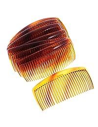 Dovewill 12 Pieces Women Practical Plastic Comb Hair Clip Clamp 29 Teeth 11 x 4.5cm
