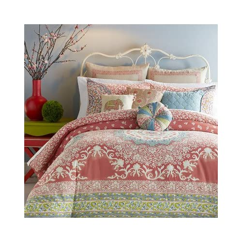 Jessica Simpson Amrita Medallion Queen Comforter Set for cheap