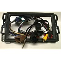 Dash kit and wire harness for installing a new Double Din Radio into a Chevy AVALANCHE(2007-2013) , EQUINOX(2007-2009) , EXPRESS VAN (2008-2015) , IMPALA(2006-2013) , MONTE CARLO(2006-2007)….