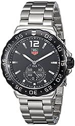 TAG Heuer Men's WAU1110.BA0858 Formula 1 Black Dial Stainless Steel Quartz Watch