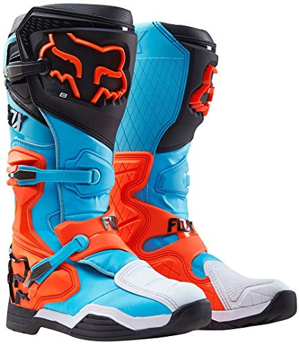 2016 Fox Racing Mens Aqua Comp 8 Racing Motocross MX Moto Boots SIZE 11 ()