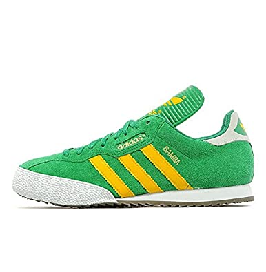 the best attitude ed92b e0ab7 adidas Samba Super Originals Green Suede Mens UK Size 6 (Mens UK Size 6)
