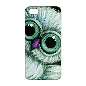 Cool-benz Cartoon adorable owl 3D Phone Case For Iphone 5/5S Cover