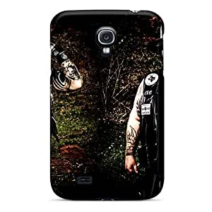 Anti-Scratch Hard Phone Case For Samsung Galaxy S4 With Provide Private Custom High Resolution Mayhem Band Pattern AlissaDubois