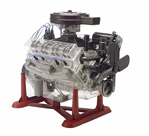 Revell Monogram 1:4 Scale Visible V-8 Engine Diecast Model Kit by Revell (8 Scale Model Kit)