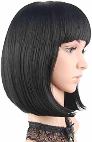eNilecor Short Bob Hair Wigs 12