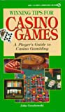 Winning Tips for Casino Games, Consumer Guide Editors, 0451185765