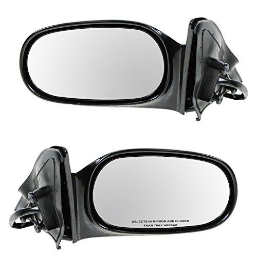 Side View Mirrors Power Left LH & Right RH Pair Set of 2 for 98-02 Corolla