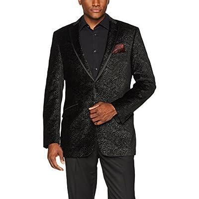 Adolfo Men's Sparkle Velvet Sport Coat at Men's Clothing store