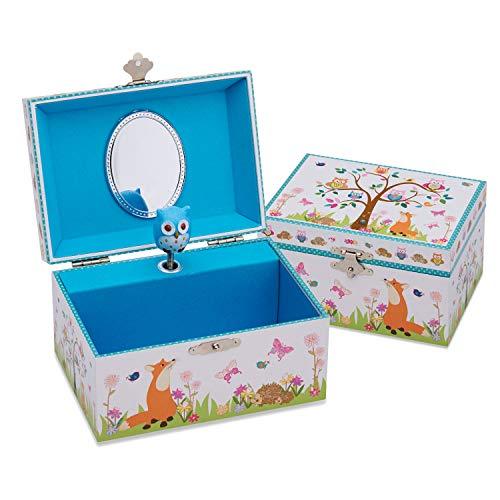 Lucy Locket 'Woodland Animals' Children's Musical Jewelry Box - Kids Jewelry Box