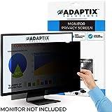 "Adaptix Monitor Privacy Screen 23"" – Info Protection for Desktop Computer Security – Anti-Glare, Anti-Scratch, Blocks 96% UV – Matte or Gloss Finish Privacy Filter Protector – 16:9 (APF23.0W9)"