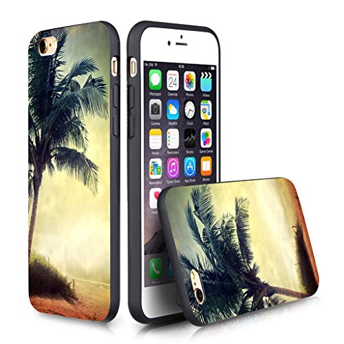 Price comparison product image Iphone 6s Case Personalized Design FTFCASE (TM) iPhone 6 / 6s (4.7 Inch) Black Cell Phone Case Beach corner
