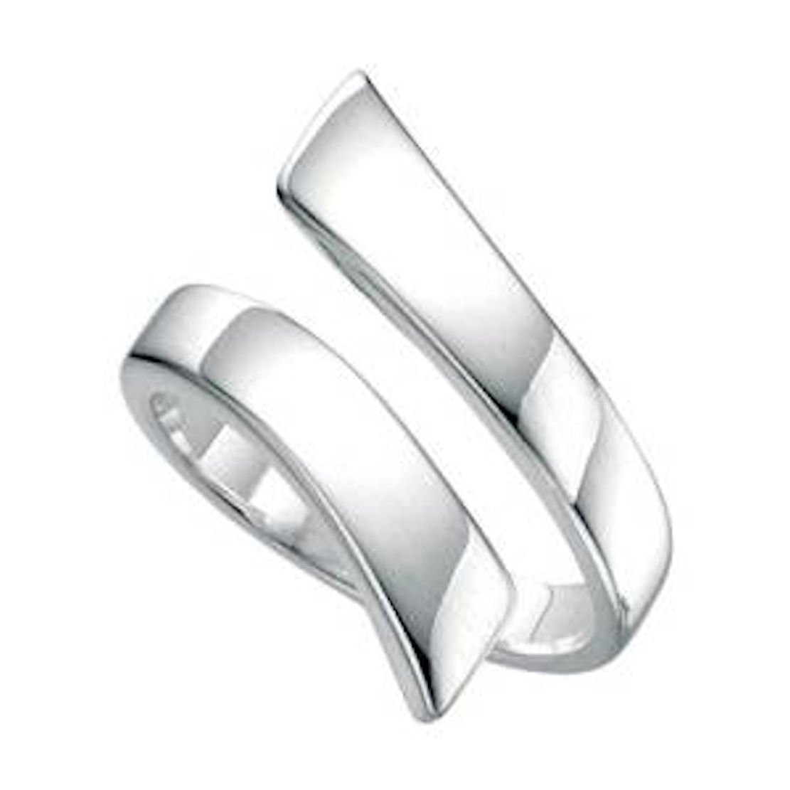 Adjustable Thumb Ring Solid Silver Sturdy Can Be Set Large Med or Small