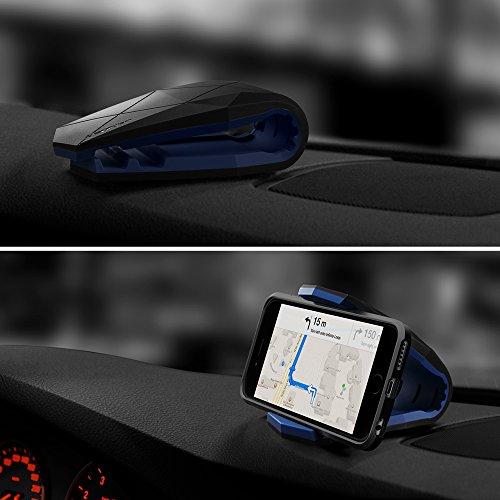 Spigen Kuel S40 Stealth Car Mount Universal Phone Holder for iPhone X / 8 / 8 plus / 7 / 7 Plus / 6S / 6S Plus / Galaxy Note 8 / S8 / S8 Plus / S7 Edge & More