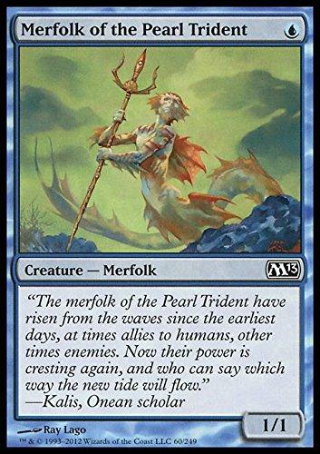 amazon com magic the gathering merfolk of the pearl trident 60