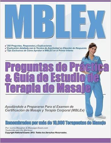 MBLEx Preguntas de Práctica & Guía de Estudio de Terapia de Masaje ...