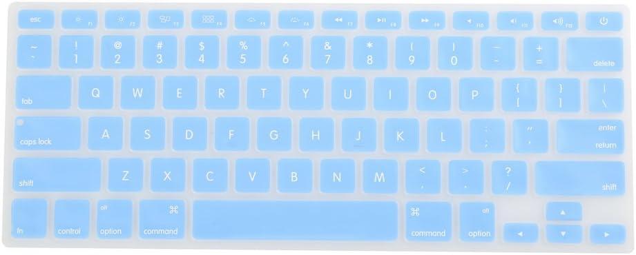 Sección 6 Skyblue con Protector de teclado de silicona y ...